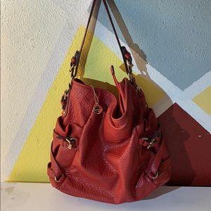 Big Buddha red hobo purse